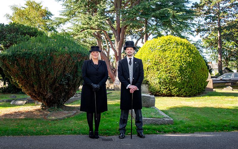 Daniel Robinson & Sons halstead staff funeral conductors
